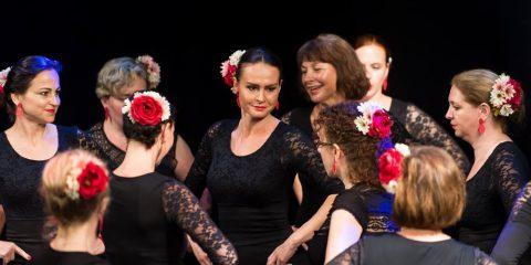 Taneční vystoupení flamenco