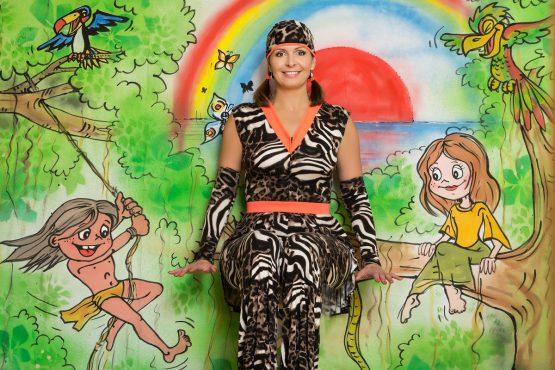 Zpíváme a tančíme s Míšou – Minidiskotéka v džungli