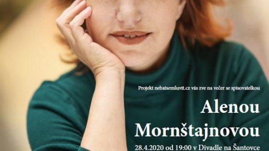 Večer se spisovatelkou Alenou Mornštajnovou