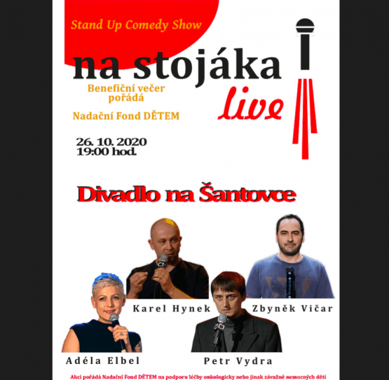 Stand Up Comedy Show – NA STOJÁKA