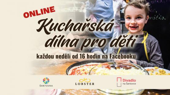 Online kuchařská dílnička pro děti