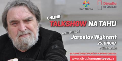 Jaroslav Wykrent hostem naší talkshow