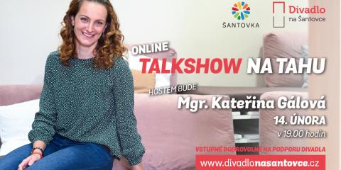 Kateřina Gálová hostem naší talkshow