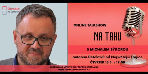 Michal Sýkora hostem naší talkshow