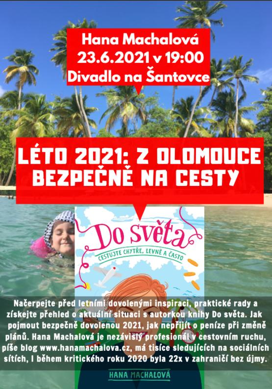 Léto 2021: Z Olomouce bezpečně na cesty